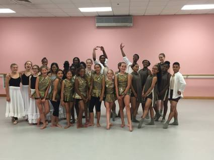 Dance Informal Showing 2016