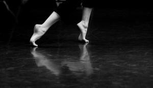 Lorraine's feet